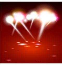 Spot lighting background vector