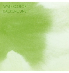 abstract green lime watercolor background for your vector image