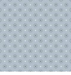 Clean Simple Blue Graphic Seamless Pattern vector image