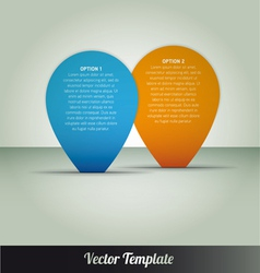 Template eps10 vector image vector image