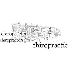 Chiropractor salary vector