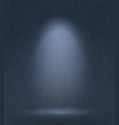 dark grunge studio background vector image