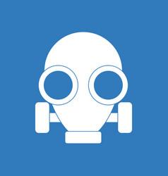 Icon gas mask vector