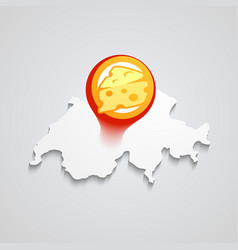 logo of swiss cheese vector image