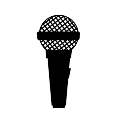 microphone mic audio technology vector image