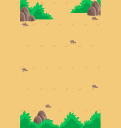 nature game background vector image
