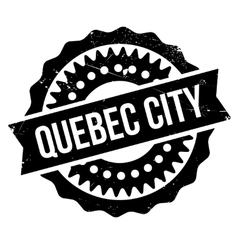 Quebec City stamp vector