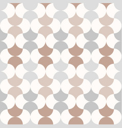 seamless anthracite moroccan style pattern vector image