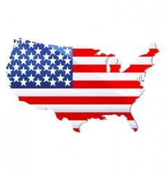 United states america flag vector
