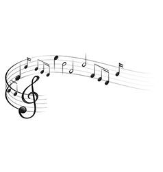 Symbols of music vector image