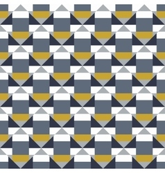 Geometric color blocked pattern vector image
