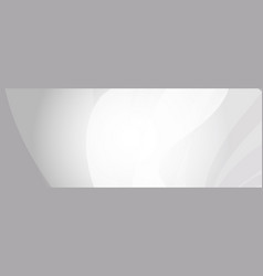 abstract web banner background in grey shades vector image