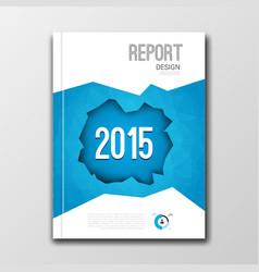 Business design template Cover brochure flyer vector