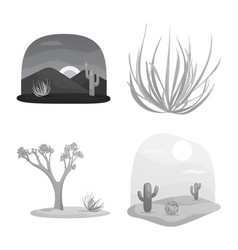 isolated object countryside and pasture symbol vector image