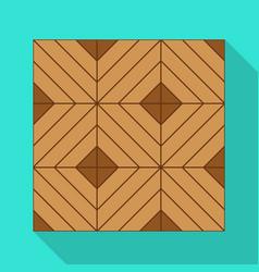 Parquet floor iconflat icon vector