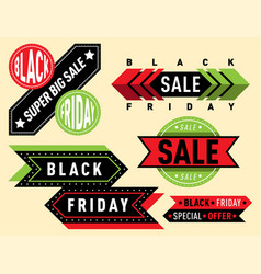 Sale badge stickers lables percent discount vector