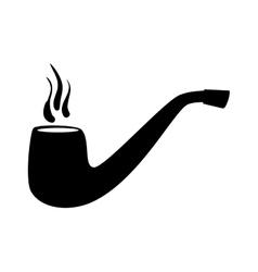 tobacco pipe vintage vector image vector image