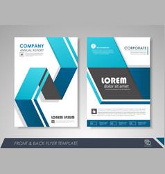 Corporate business brochure vector