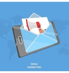 Email marketing conceptual vector image