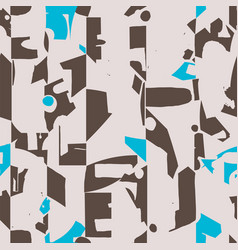 modern and artistic seamless pattern design with vector image
