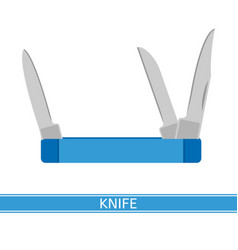 Pocket knife icon vector