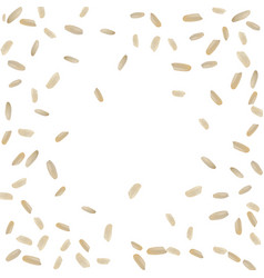 realistic rice pattern vector image