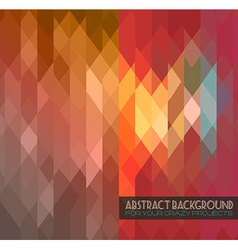 Disco club flyer template Abstract background vector image vector image