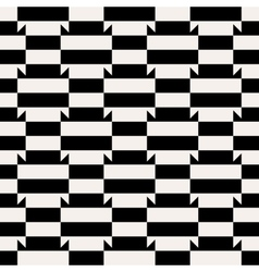 Abstract op art pattern vector