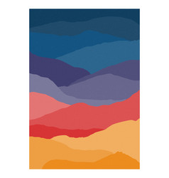 colorful vertical background or card template vector image
