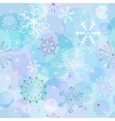 Seamless winter vector