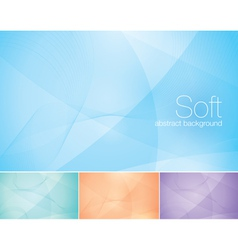Soft abstract background vector