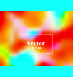 Summer colorful gradient abstract backgroun vector