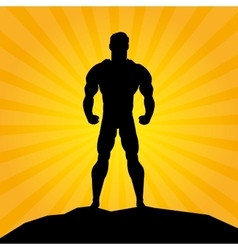 Superhero design superman icon costume vector