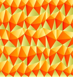 triangular autumn background vector image