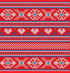 Ugly sweater christmas party flat style vector