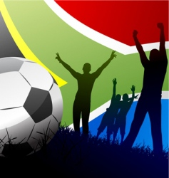 world cup south Africa vector image vector image