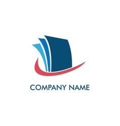 Paper-document-office-logo vector