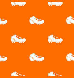 Baseball cleat pattern seamless vector