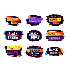 big sale discount offer friday vector image