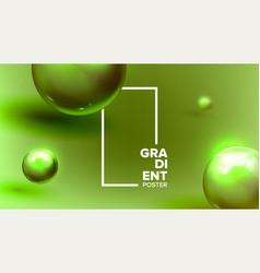 fluid liquid abstract background modern vector image