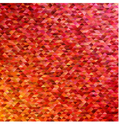 geometric triangular polygon pattern background vector image