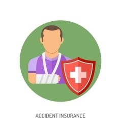 Insurance Flat Icons vector
