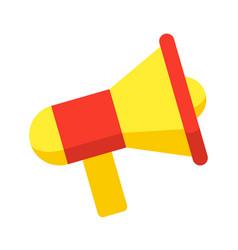 megaphone stylish icon vector image