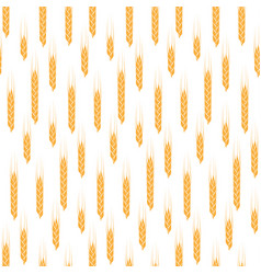 pattern of cereals vector image