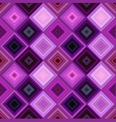 purple seamless abstract diagonal square tile vector image