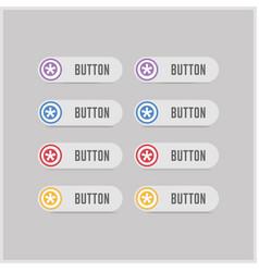 star button icon vector image