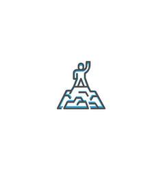 success icon design startup icon design vector image