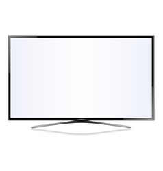 Tv flat screen lcd plasma vector
