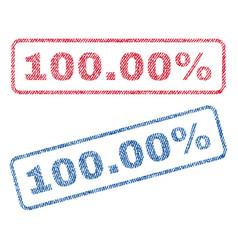 10000 percent textile stamps vector
