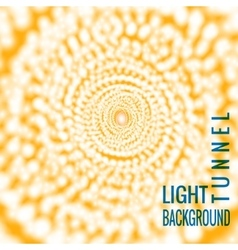 Abstract background tunnel vector image